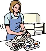 冷蔵庫の大掃除