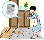 玄関の大掃除の仕方