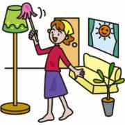 リビングの掃除の仕方